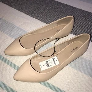 Nude Flats Size 10 - Express